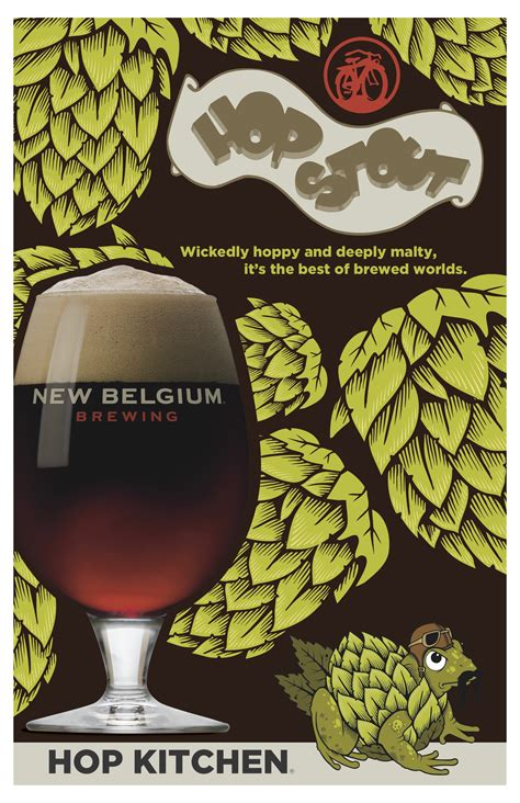 Hop Kitchen by New Belgium Brewing Set To Release Hop Stout