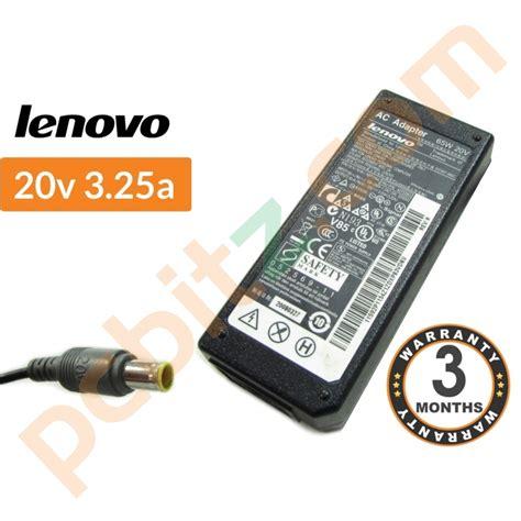 Dijamin Adaptor Charger Laptop Lenovo 20v 3 25a Original genuine lenovo 20v 3 25a ac adapter charger 65w ebay