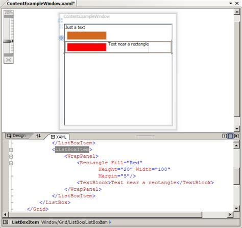 xaml default layout wpf tutorial controls and layout