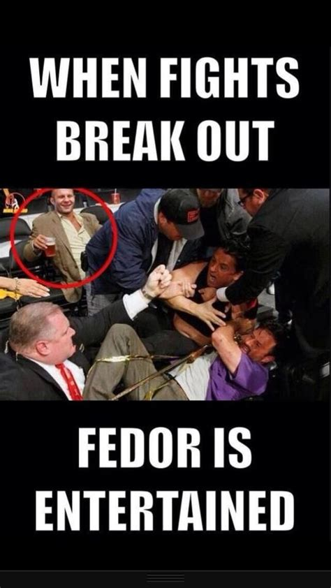 Fedor Emelianenko Meme - 153 best images about ufc fighter books on pinterest