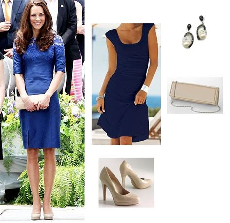 navy blue dress and shoes if kate does it it must be