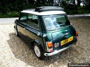 Electric Mini Cooper For Sale Classic Rover Mini Cooper In Racing Green With