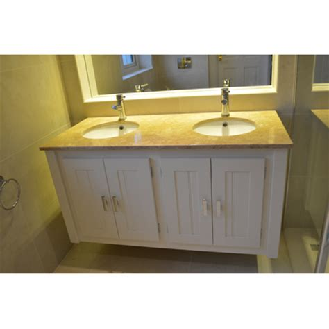pine bathroom vanity unit wall hung vanity unit with crema marfil top aspenn furniture
