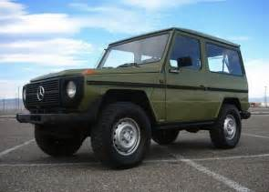 Mercedes G For Sale Drab And Plaid 1980 Mercedes 280ge 4 215 4 Bring A Trailer