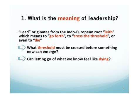 what is the meaning of webinar collective leadership alain gauthier