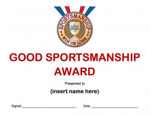 not in it to win it the good sportsmanship award goes to