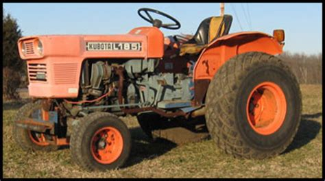Kubota L185 Specifications Attachments