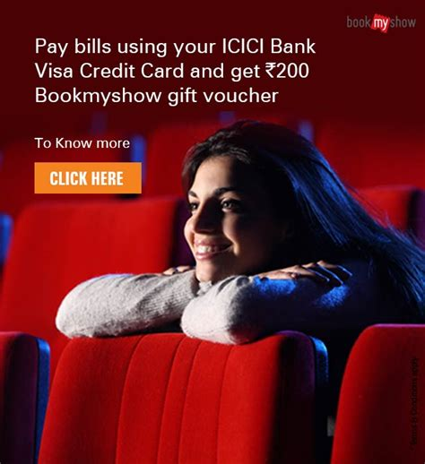 icici bank bookmyshow offer icici bank bookmyshow offer