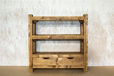 Rustic Shoe Rack by Rustic Wooden Shoe Rack With Drawer 9 11 Pairs