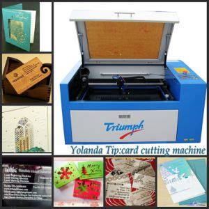 card template cutting machine china paper laser cutting machine business card