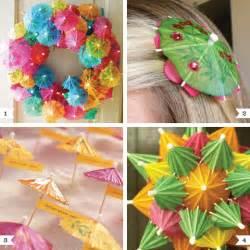 Christmas Crafts For Adults Martha Stewart - diy party parasol ideas chickabug