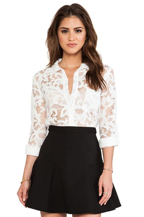 21867 Blackwhite Lace simple black skirt dressed with lace my style lace tops lace and tops