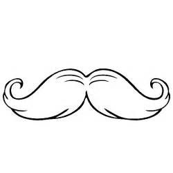 Free Coloring Pages Of Moustaches Moustache Coloring Pages