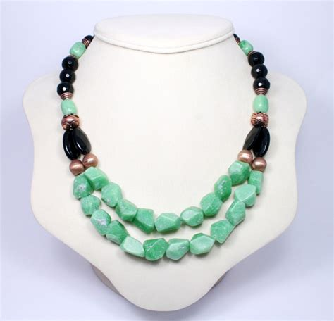 handmade gemstone necklaces designs images