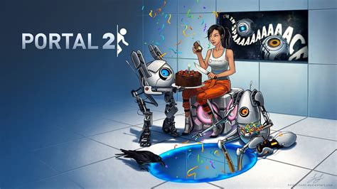 portal images portal 2 portal 2 wallpaper 30863491 fanpop