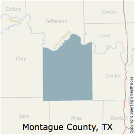 map of montague county texas best places to live in montague county texas
