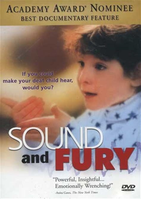 Sound And Fury sound fury dvd harris communications