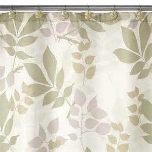 shadow leaves shower curtain by creative bath products