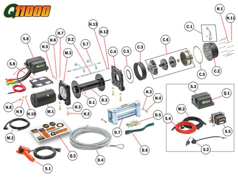 mile marker winch wiring diagram efcaviation