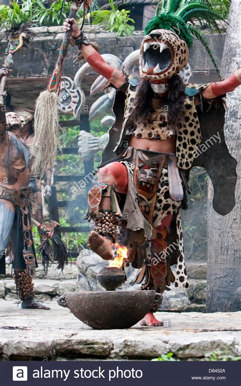 mayan jaguar warrior mayan dancer representing ek balam jaguar a warrior god