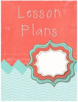 printable lesson plan binder cover free lesson plan cover sheet for the clasroom
