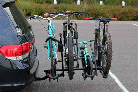 How To Attach Bike Rack by Family Hauler Minivan Modified For Bikes Gear