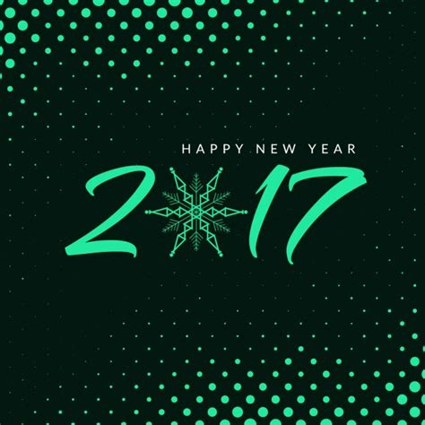new year free new year 2017 bright halftone background vector free