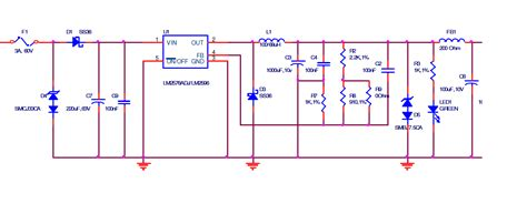 Power Supply 5v 2a By E Support resolved lm2576 voltage latches to 5v from a 12v