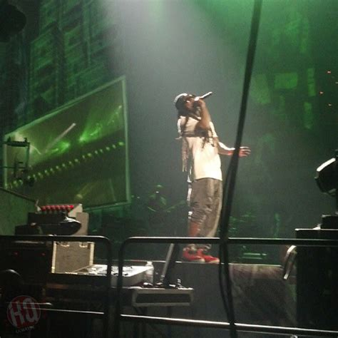 Loses Shirt While Performing Live by Lil Wayne Wears A Trayvon Martin T Shirt While Performing