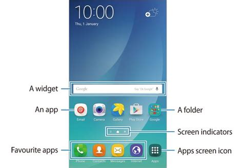 layout android folders galaxy note 5 home screen galaxy note tips tricks