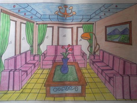 desain interior ruang tamu 1 titik lenyap welcome to my blog other