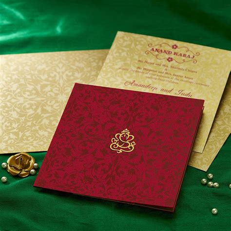 indian wedding cards parekh cards hu2155