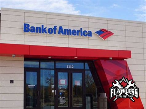 banco america bank of america highlands ranch flawless steel welding