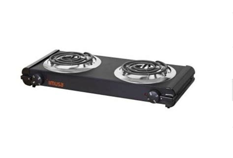 Countertop Cooktops Electric by Imusa 6 In Electric Burner Portable Stove Cooktop
