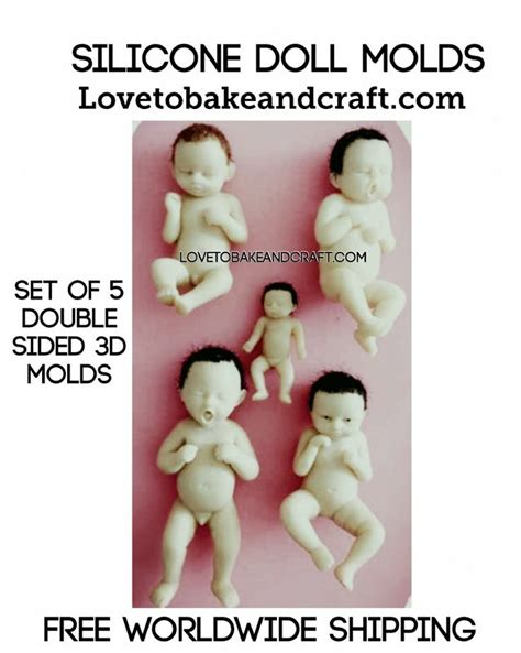 doll molds 204 best 3d silicone baby molds moulds images on
