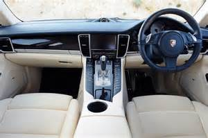 porsche panamera interior photos