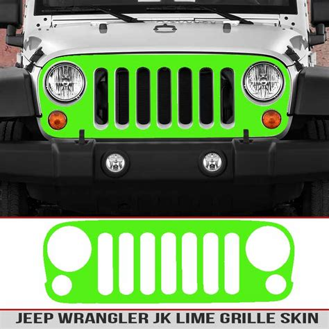 jeep grill decal jeep jk grille multi color carbon fiber alphavinyl