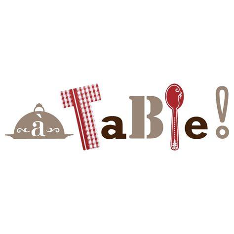 sticker de cuisine sticker quot a table quot pour cuisine en vente sur sticker s