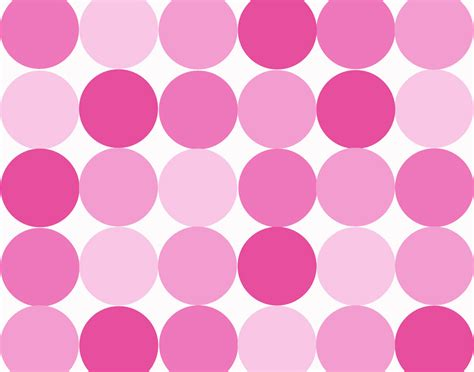 wallpaper pink dots pink and white polka dot backgrounds clipart best