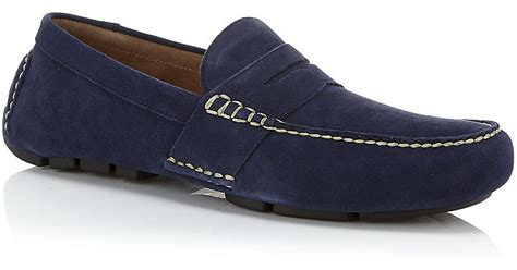 polo telly loafers polo ralph telly loafer in blue for lyst