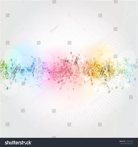 background design note abstract design background colourful music notes stock