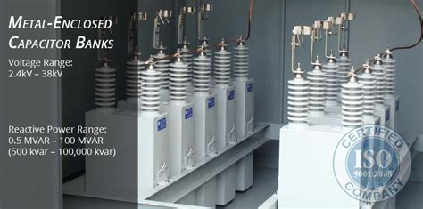 project of capacitor bank nepsi medium voltage metal enclosed power capacitor banks