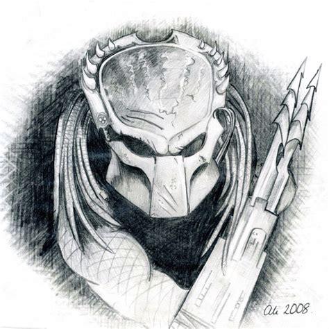 vs predator drawings my predator pencil sketch pictures by pencil