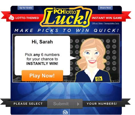 Pch Lotto Email - pchlotto luck play for the chance to win 25 000 instantly pch playandwin blog