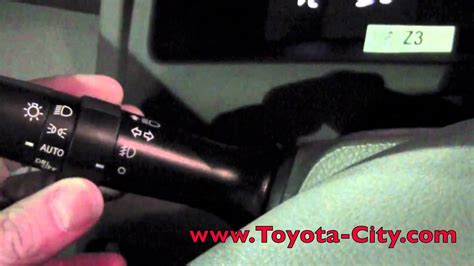 light controls 2011 toyota camry fog light controls how to by