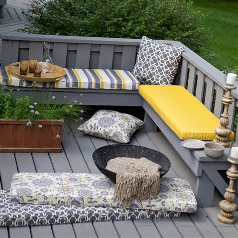 deck trends 2017 deck outdoor bench cushions trends with decorating savwi com