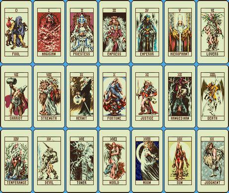 how to make tarot cards tarot and the major arcana in i made
