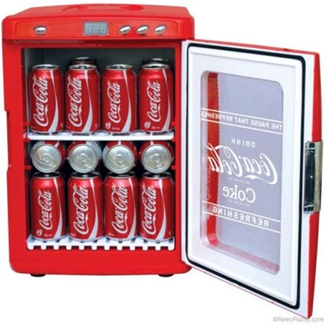 Freezer Coca Cola Portable Coca Cola Fridges Retro Style Functionality