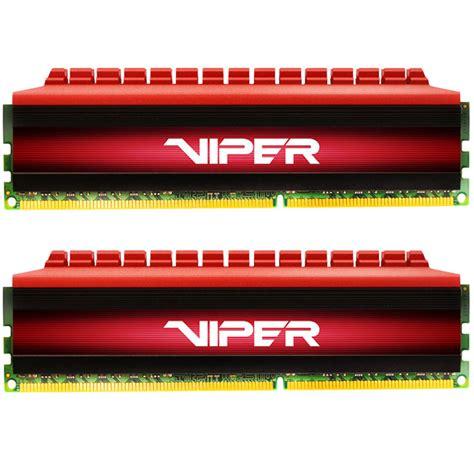 Patriot Pv416g340c6k Viper Ddr4 2x8gb patriot 16gb viper 4 ddr4 3400 mhz udimm memory kit pv416g340c6k