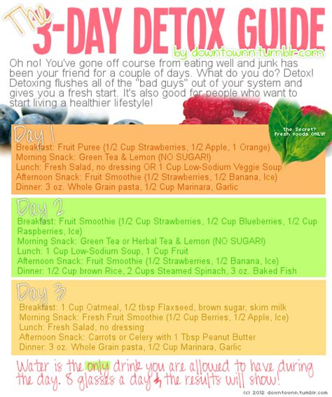Detox Nursing Notes by Detoxify